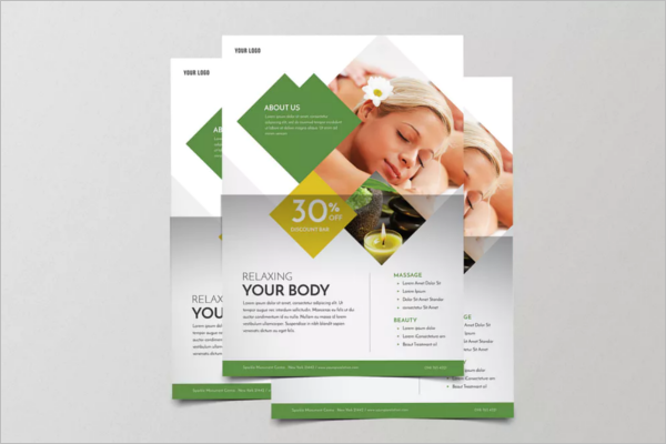 Skincare Salon Flyer Template