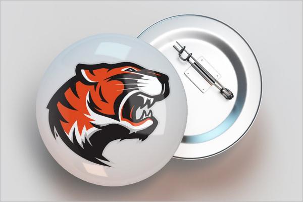Small Badge Mockup Design