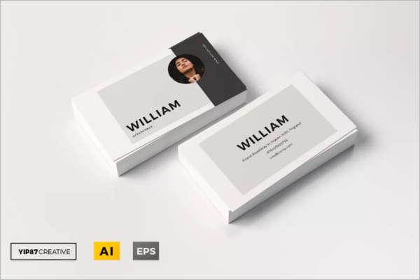 Small Business Card Clean Template
