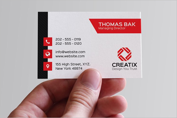 Small Business Card Template