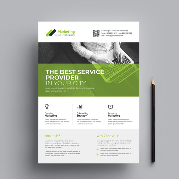Small BusinessFlyer Template Free Download