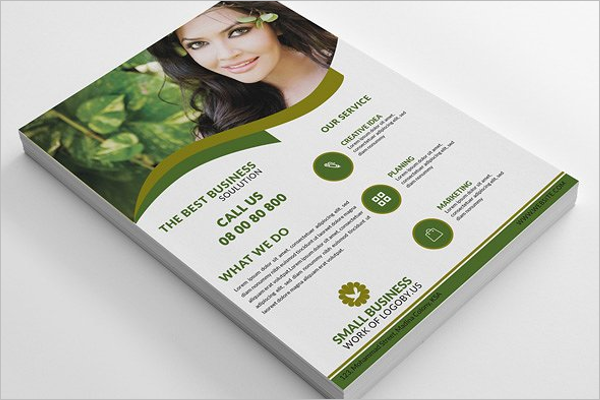 Small Business Flyer Template PSD