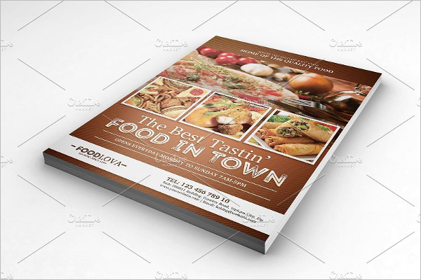 Small Food Business Flyer Template