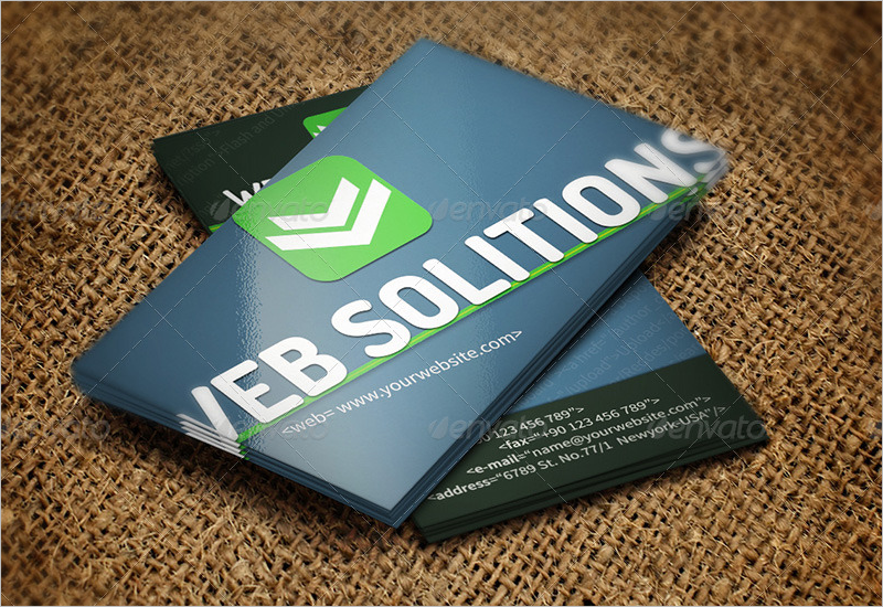 Smart Developer Business Card Design