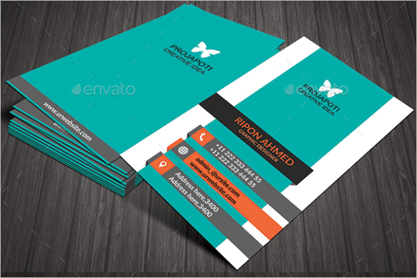 Smart Office Business Card Design