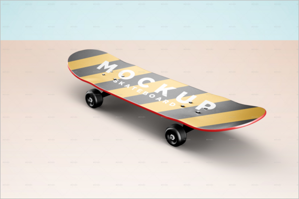 SmartSkateboard Mockup Design