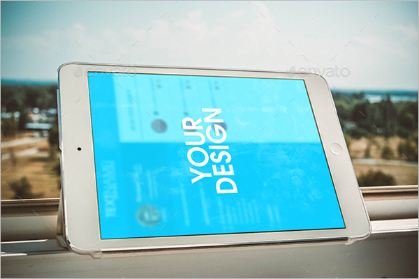 Smart ipad Mockup Design