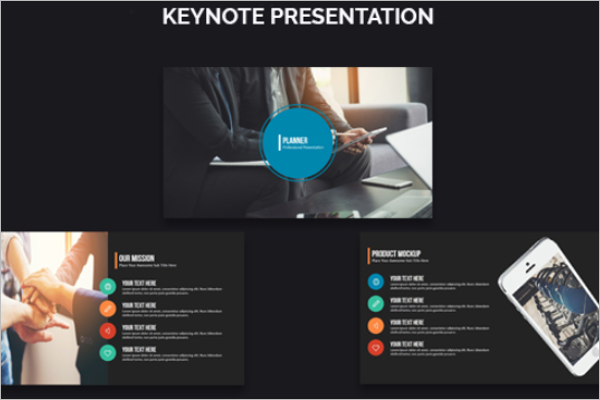Smart keynote Design Template