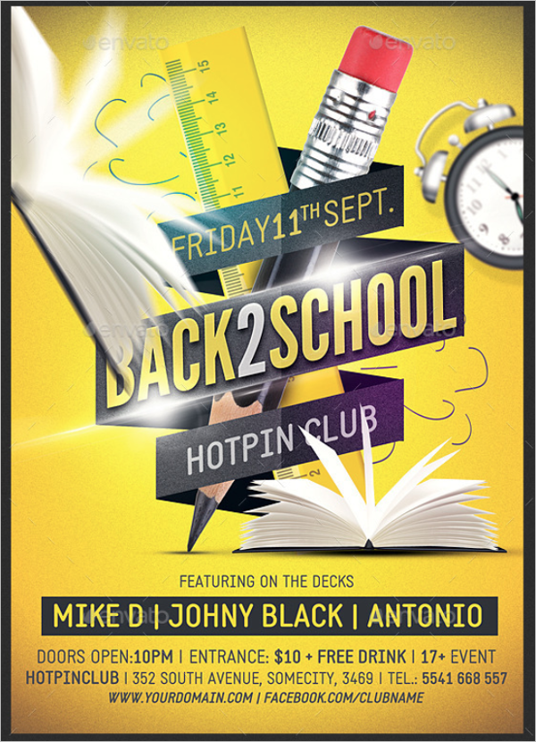 Snap On Student Flyer Template