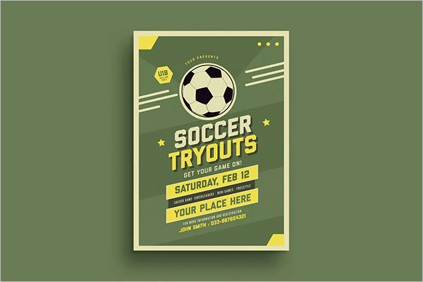Soccer Flyer Example