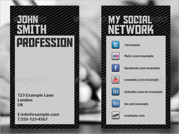 20 networking business card templates free word sample designs social network business card template colourmoves