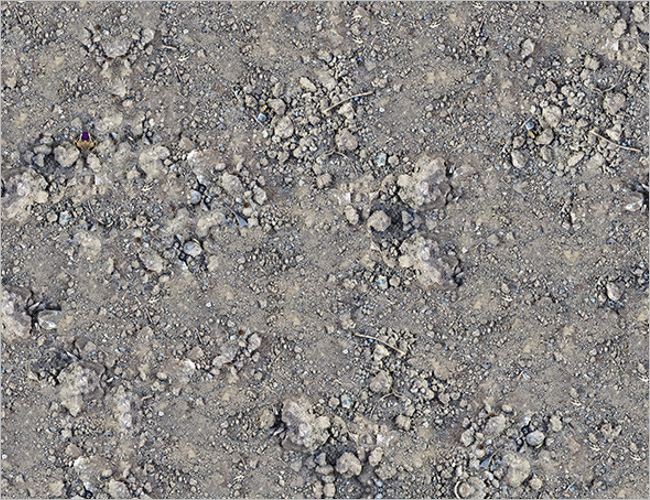 Soil 3D Texture Design