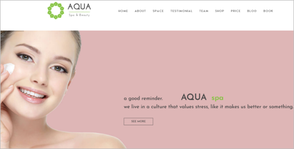 Spa & Beauty Virtuemart Template