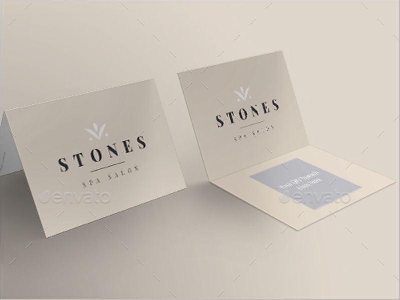 Spa & Salon Business Card Design