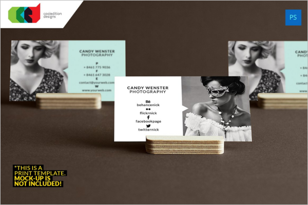 Special Photography Business Card Design