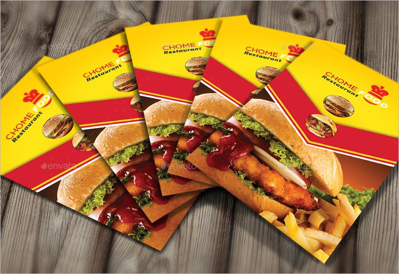 Special Restaurant Business Card Design