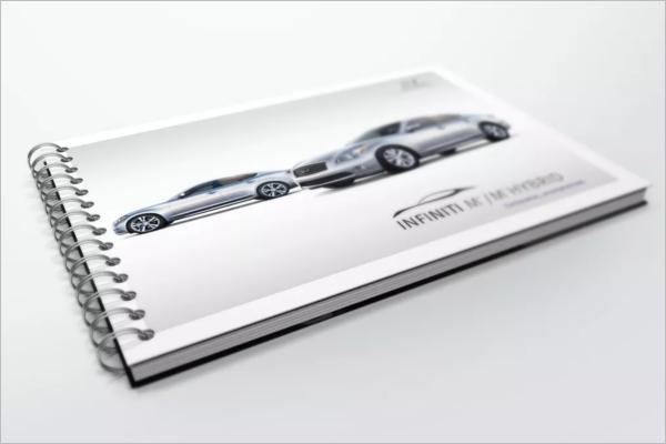 Spiral Bound Book Design