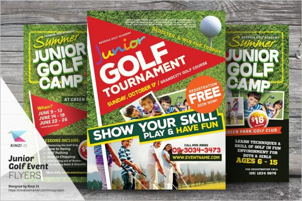 Sports Club Flyer Design