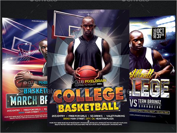 Sports Event Flyer Template Bundle