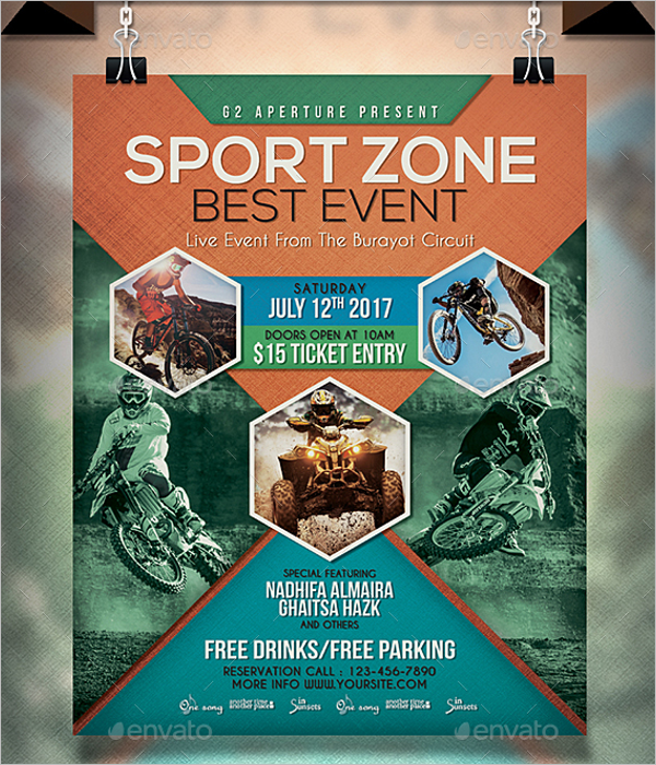 Sports Event Flyer Template Word