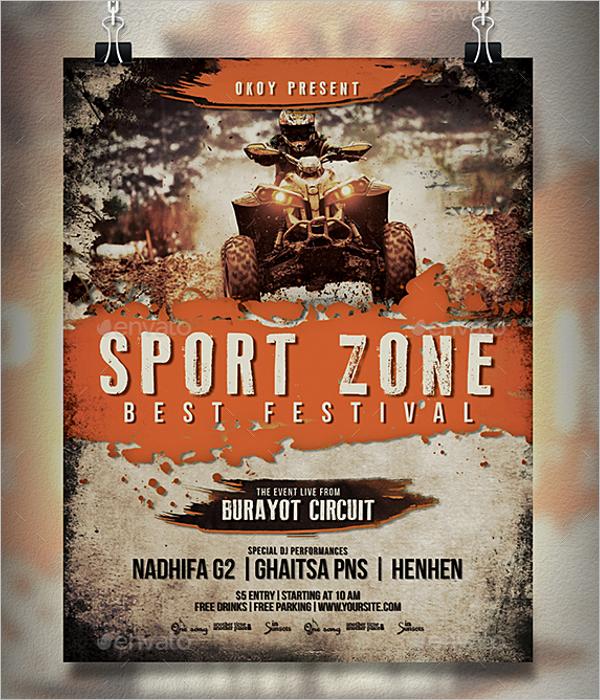 Sports Festival Flyer Template