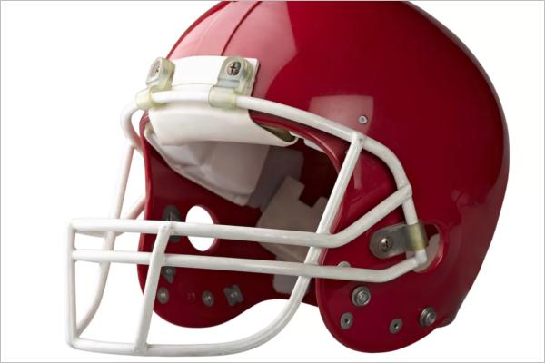 Sports Helmet Mockup