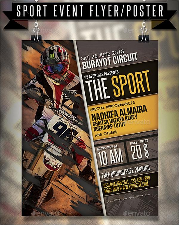 Sports Tournament Flyer Template