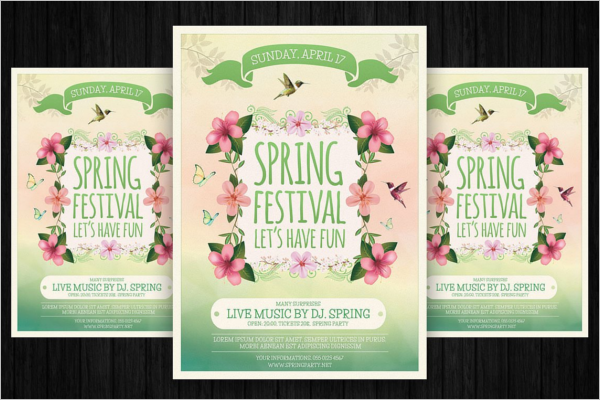 Spring Carnival Flyer Template