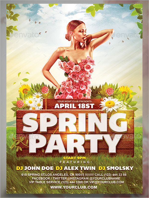 Spring Flyer Template Download