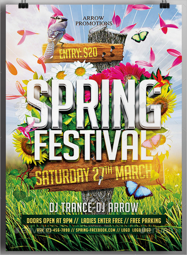 Spring Flyer Template Word Download