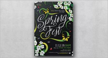 Spring Flyer Templates