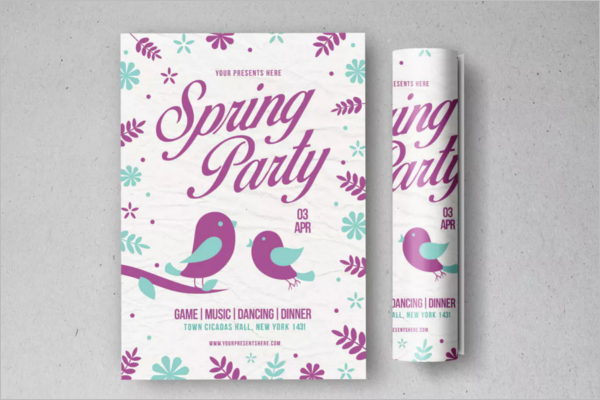 Springtime Flyer Template