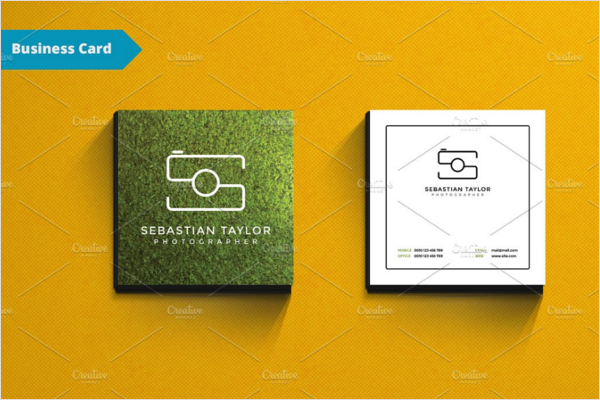 Square Business Card Blog