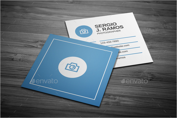 Square Business Card Bundle Design