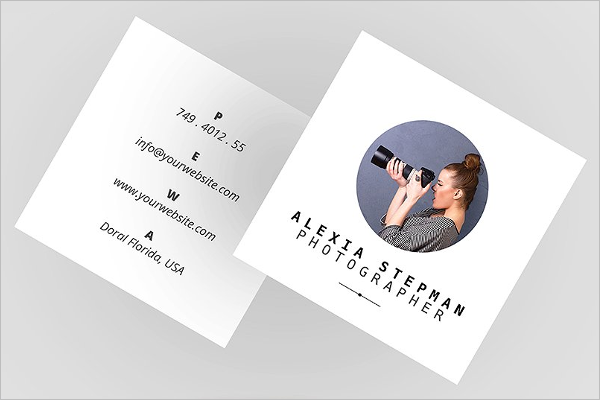 53 square business card templates free psd word designs square business card word design reheart Images