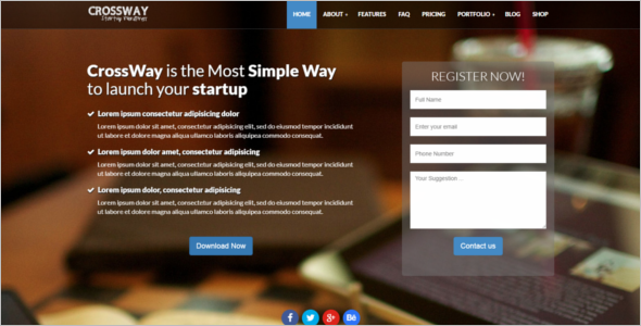 Startup Bootstrap Theme