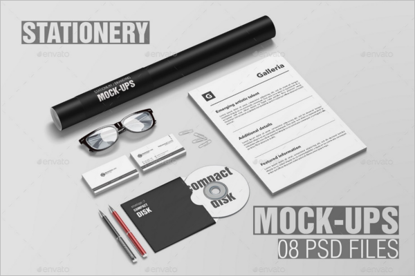 Stationery Branding Mockup Design