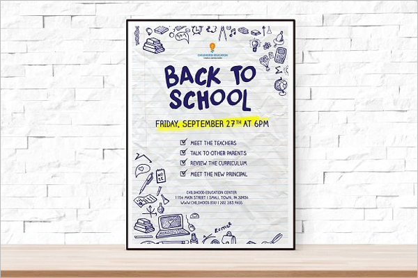 Student Event Flyer Template