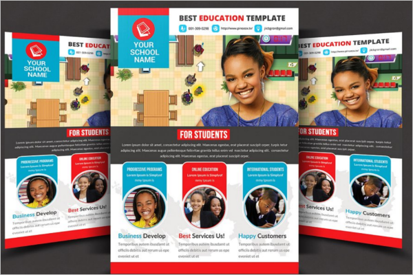 Student Flyer Template PSD