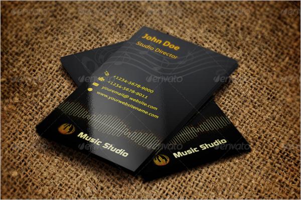 Studio Business Card Template
