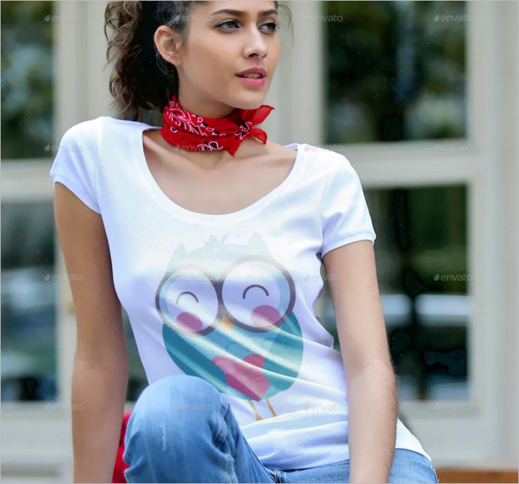 T-Shirt Mockup Clean Design