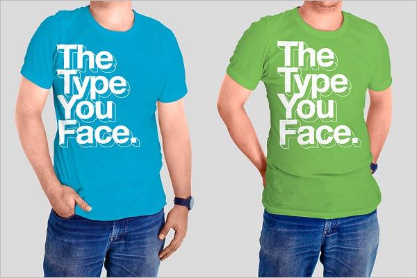 T-Shirts Mockup PSD Design