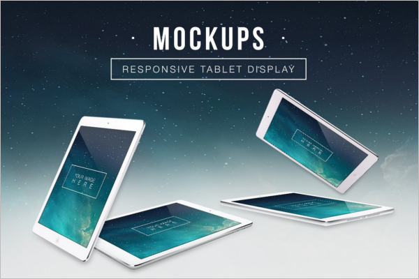 Tablet Device Mockup Design