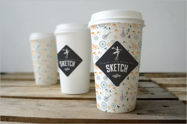 Takeaway Coffee Cup Mockup