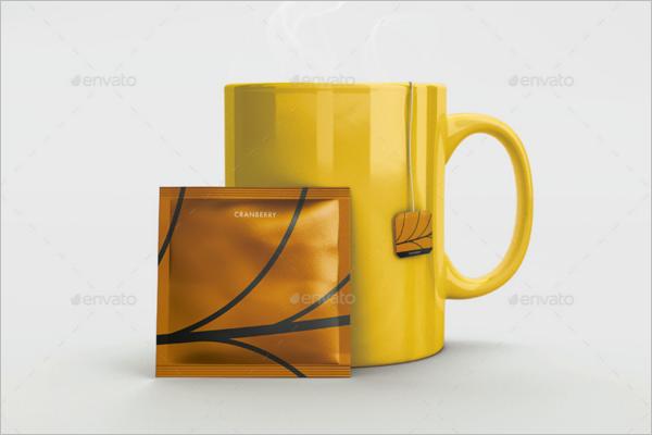 Tea Packaging Mockup Pack