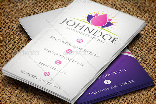 Teacher Business Card Template