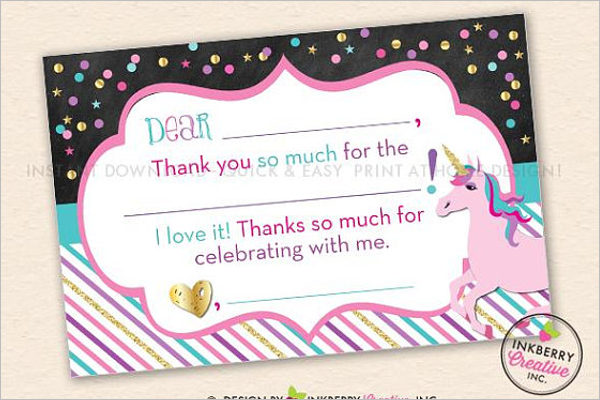 Thank You Template Free Download