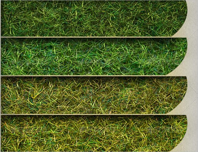 Tileable Grass Texture Design