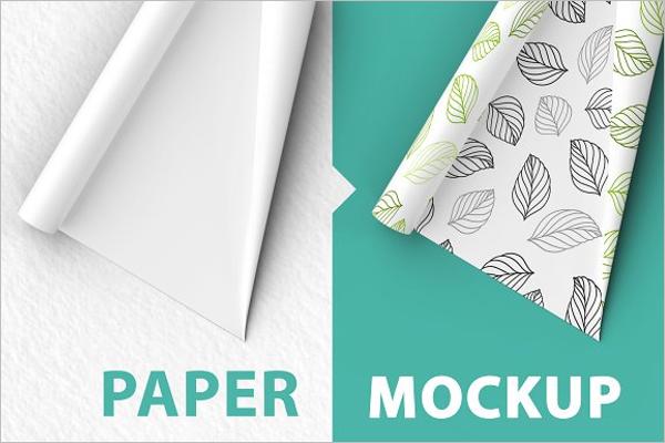 Tissue Paper Mockup Design