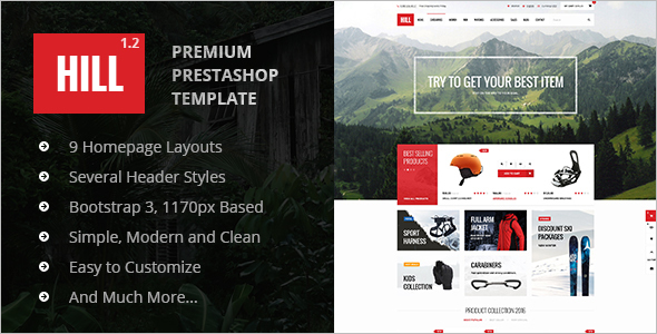 Top Prestashop Theme For eCommerce